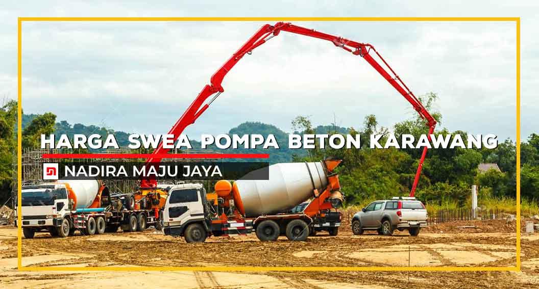 Sewa Pompa Beton Karawang
