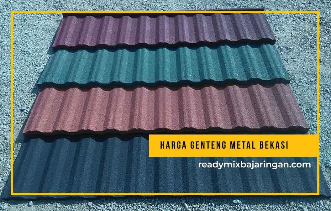 Harga Genteng Metal Bekasi