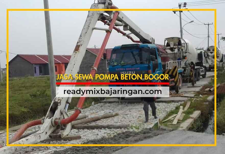 Jasa Sewa Pompa Beton di Bogor