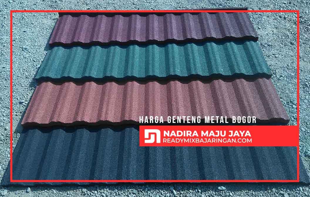 Harga Genteng Metal Bogor